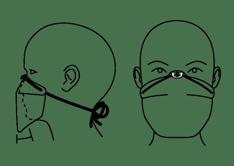 BTN Mask wearing instruction
